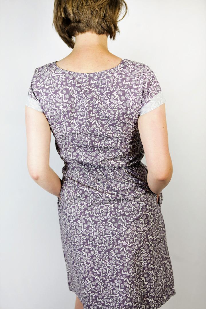 Bio Kleid Somrig Feldblumen braun 3
