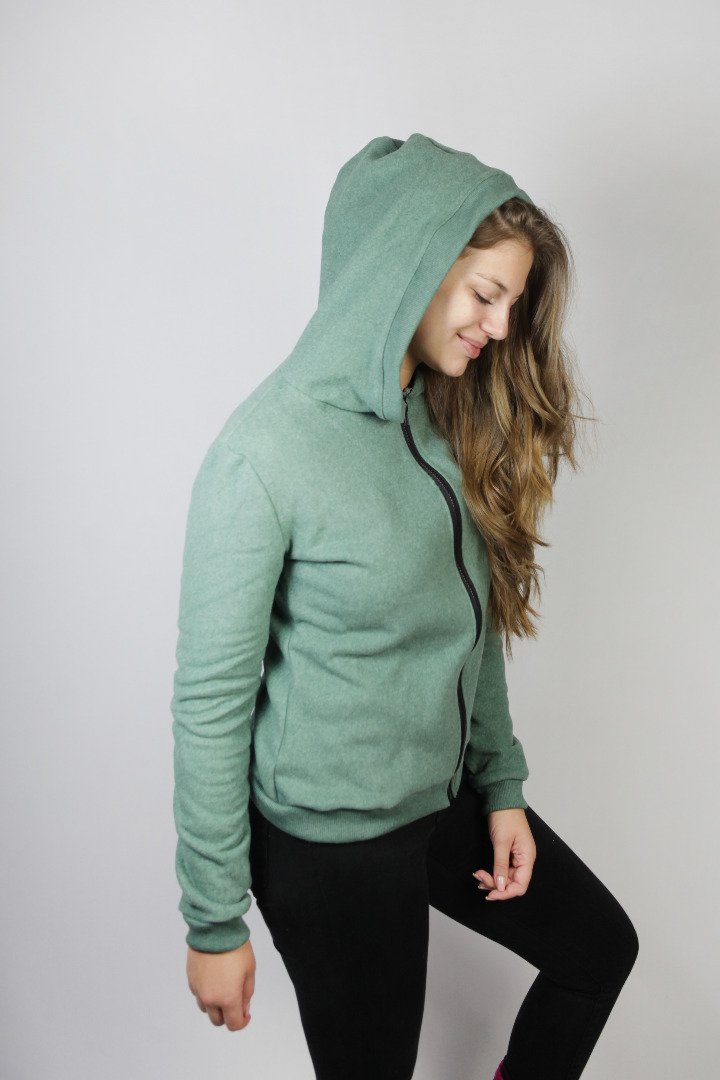 Bio Fleece-Jacke Lumi grün 3