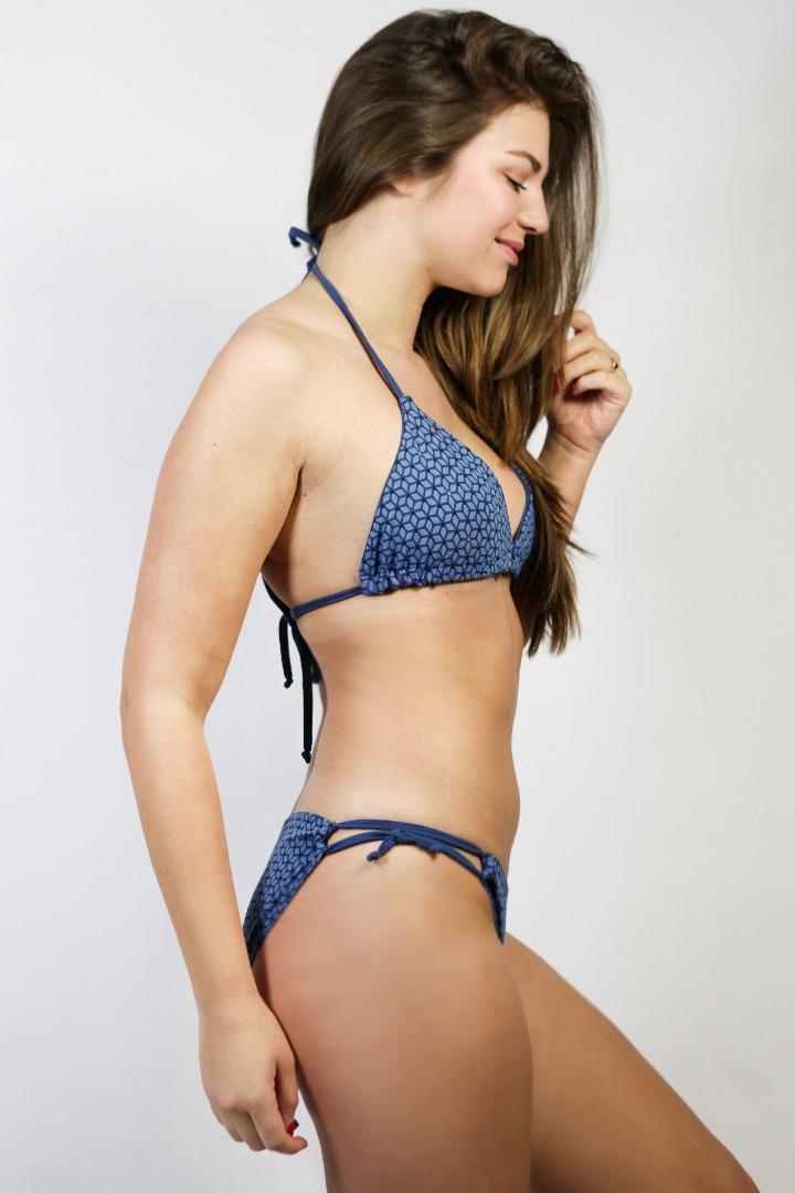 Bio Bikini Tropea stars / blau - 2