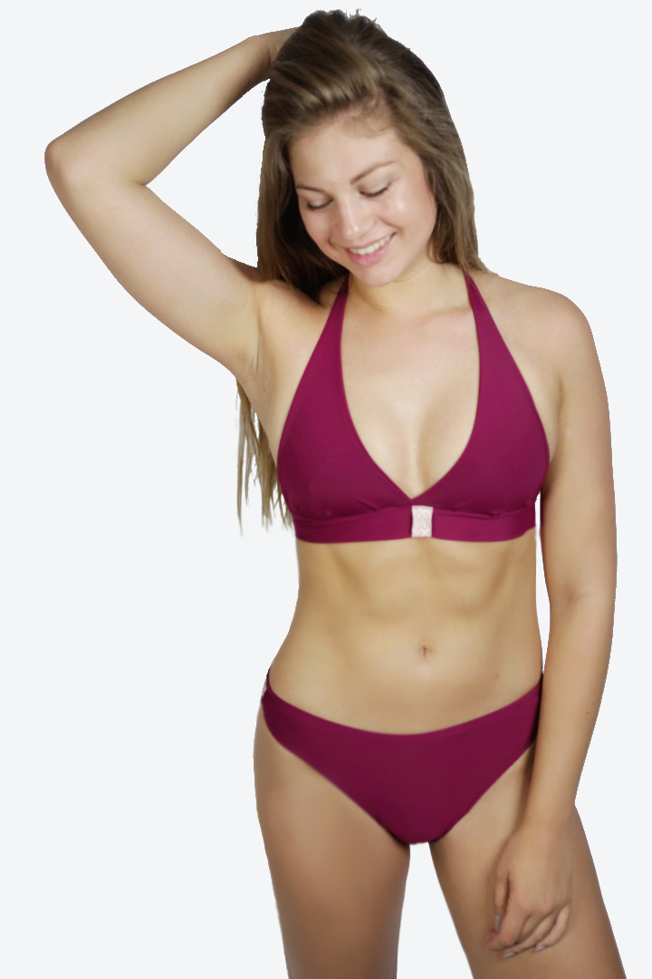 Recycling Bikini Fjorde vino Band rosé