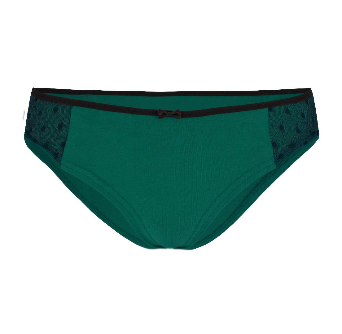 Bio-Hüftslip Lorelow smaragd grün