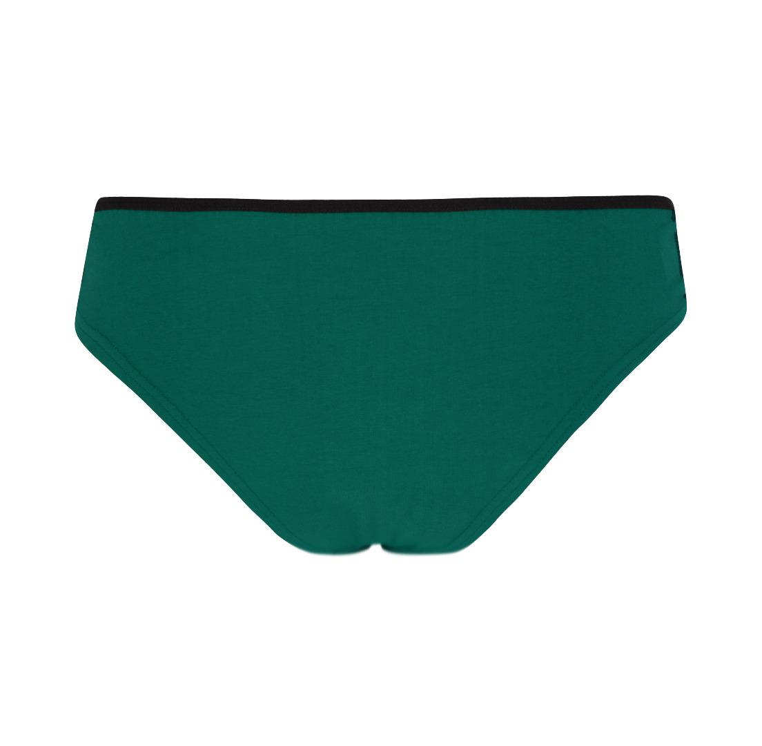 Bio-Hüftslip Lorelow smaragd grün 2