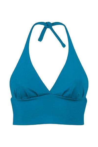 Recycling bikini top Fjordella teal
