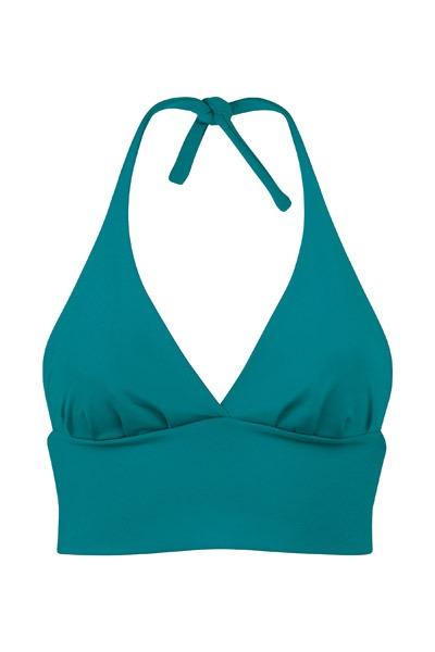 Recycling bikini top Fjordella smaragd