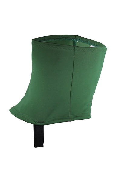 Recycling trail gaiters olive green