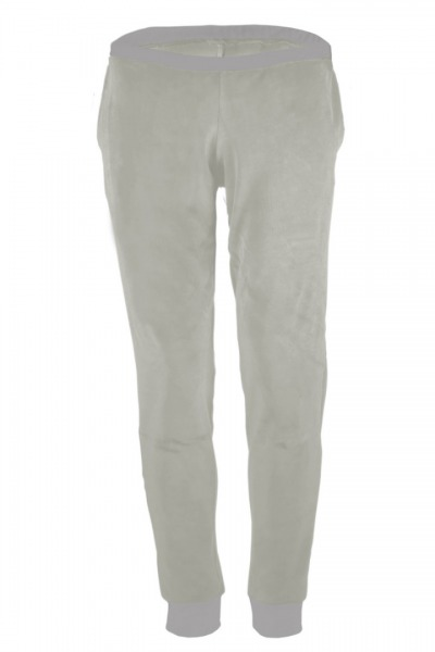 Organic velour pants Hygge tinged in