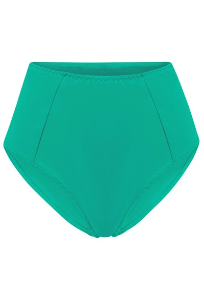 Recycling bikini panties Lorehigh botanico green