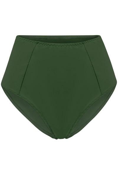 Recycling bikini panties Lorehigh olive