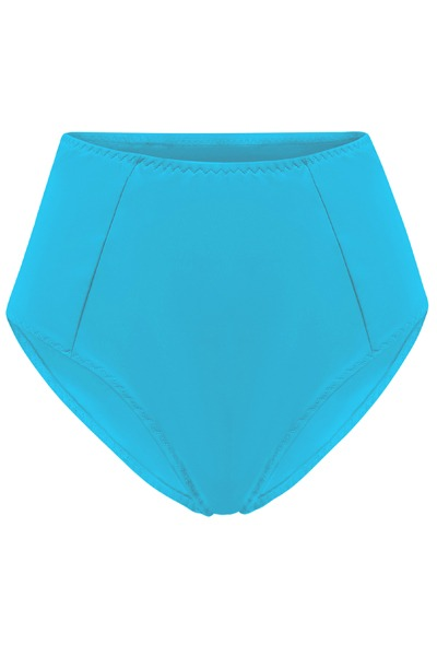 Recycling bikini panties Lorehigh teal