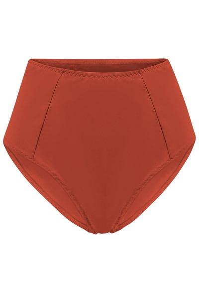 Recycling bikini panties Lorehigh rust