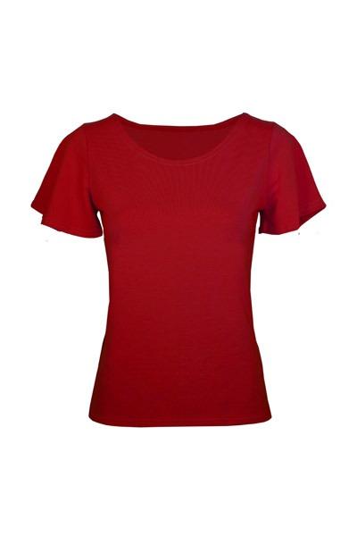 Bio T-Shirt Vinge chili rot