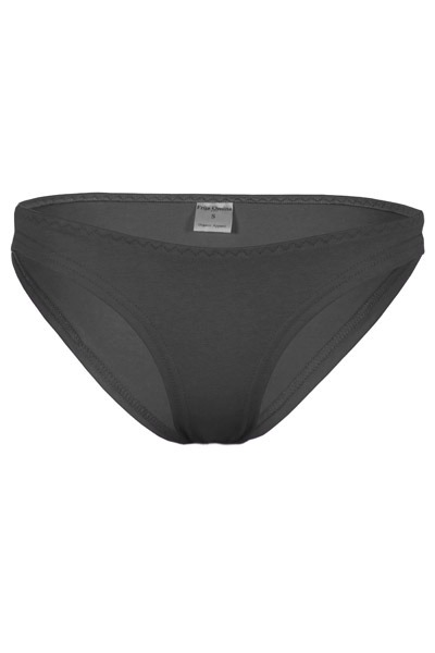 Organic briefs anthracite grey