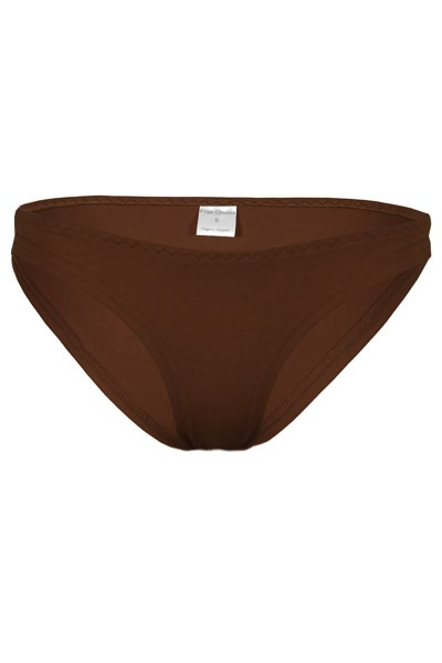 Organic briefs brown