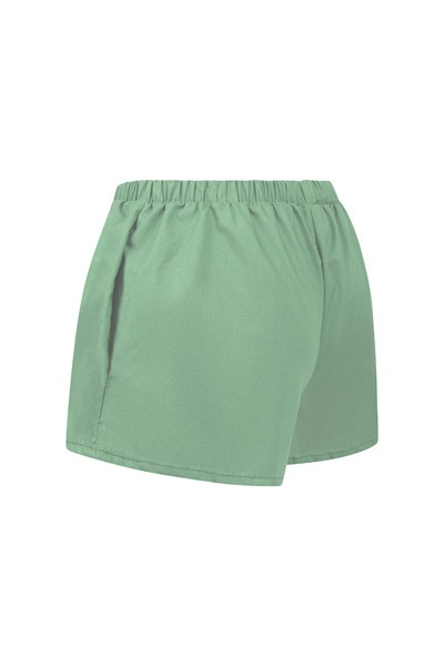 Organic women s shorts Smilla celadon