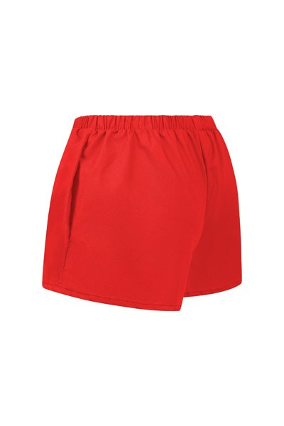 Organic women s shorts Smilla red