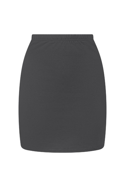 Organic skirt Snoba dark gray