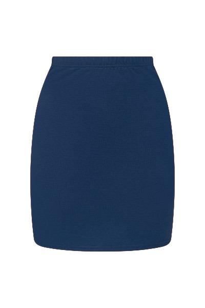 Organic skirt Snoba blue