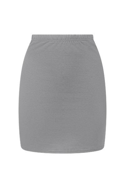 Organic skirt Snoba grey