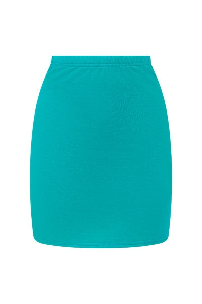 Organic skirt Snoba light teal