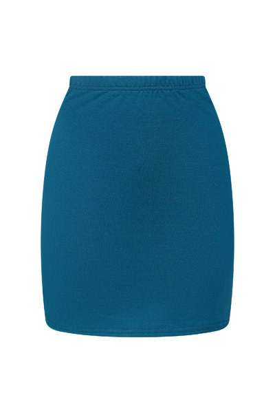 Organic skirt Snoba indico blue