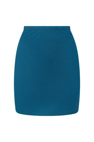 Organic skirt Snoba smoky-blue