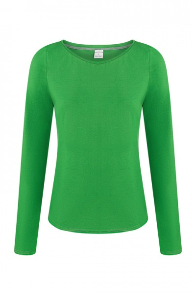 Organic long sleeve Ubu green