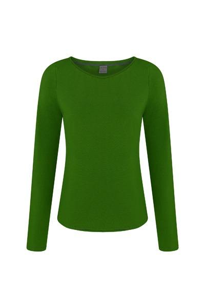 Organic long sleeve Ubu verde