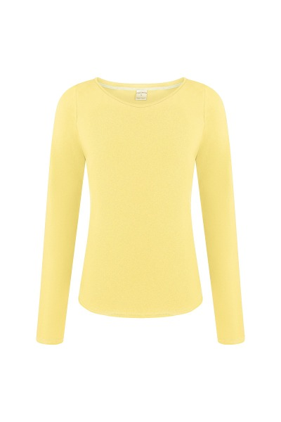 Organic long sleeve Ubu lemon ice