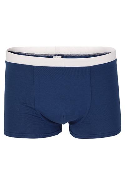 Organic men s trunk boxer shorts indico