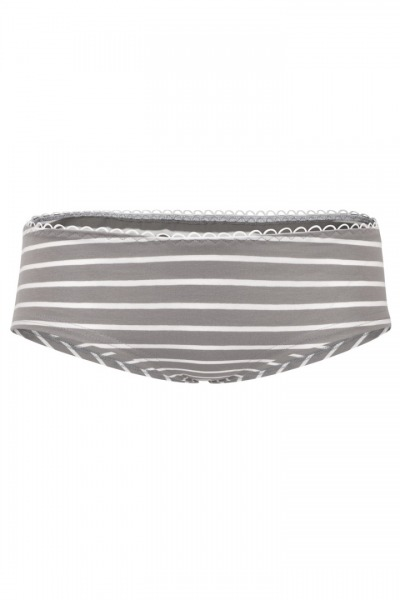 Bio hipster panties Sailor grey