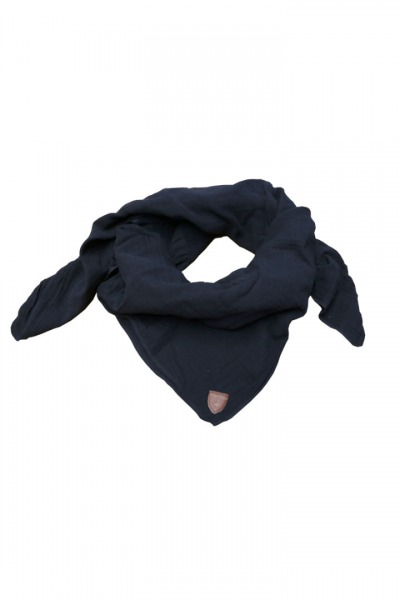 Musselin-Cloth/ Mull-Bandanna Skarna black