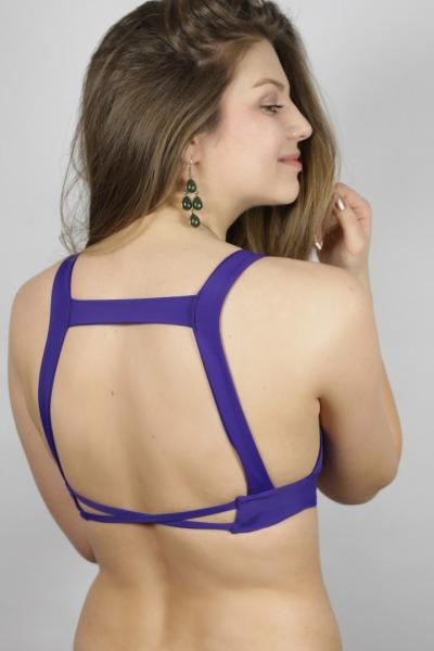 Recycling bikini top Bardo indico
