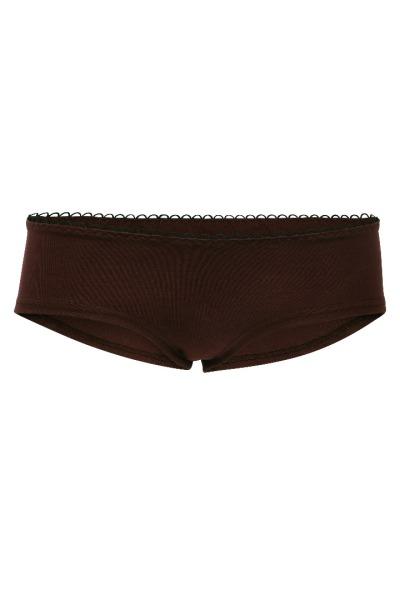 Bio hipster panties brown