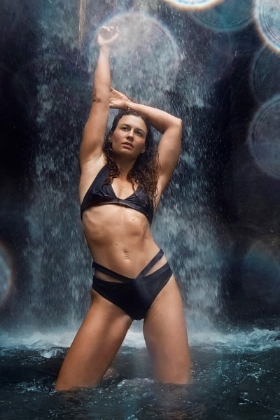 Recycling bikini panties Johto black