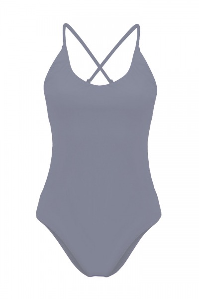 Recycling swimsuit Fr ya grey