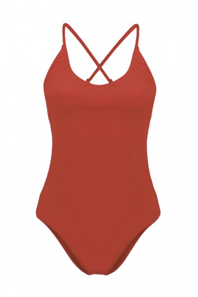 Recycling swimsuit Fr ya rust