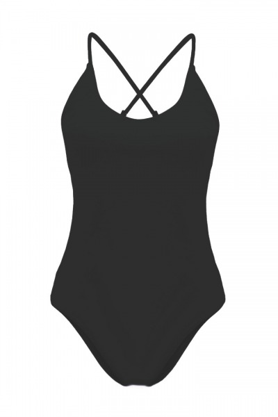 Recycling swimsuit Fr ya black