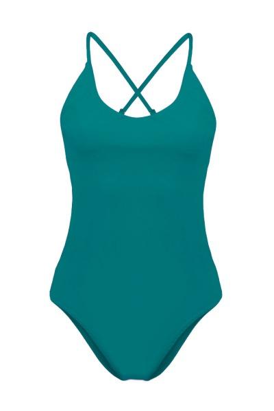 Recycling swimsuit Fr ya smaragd