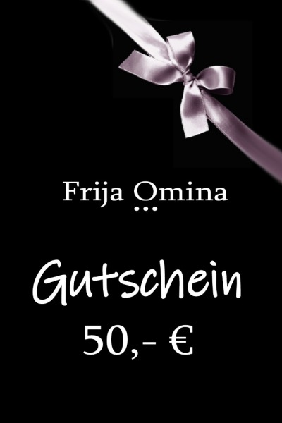Frija Omina Geschenkgutschein 50-