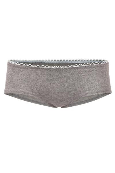 Bio hipster panties grey melange