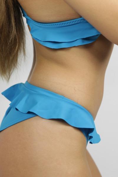 Bikini panties Volanti teal