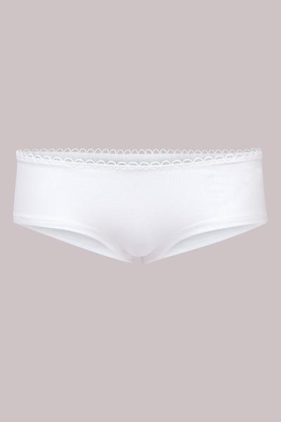 Bio hipster panties white