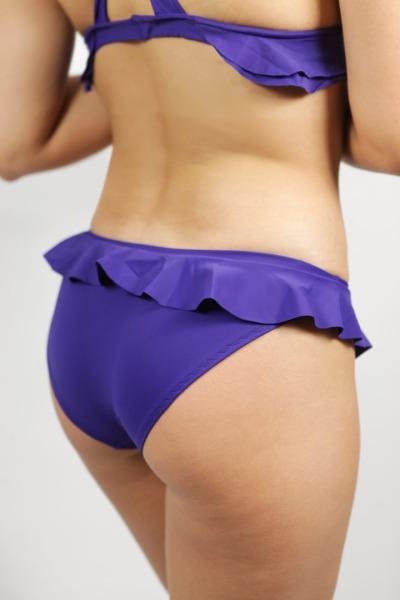 Bikini panties Volanti indico