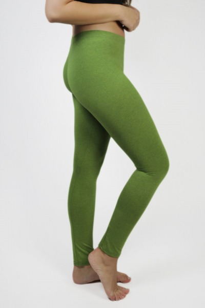 Bio Leggings tinged with verde