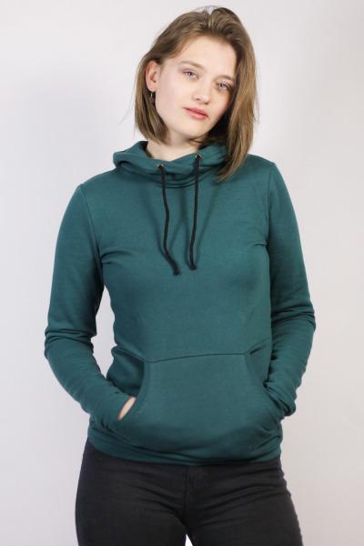 Bio Hoodie Fjalske II smaragd