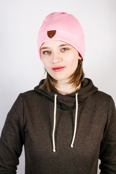Bio Beanie Basel rosa