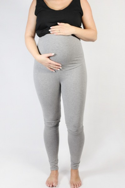 Organic leggings Mama tinged in light