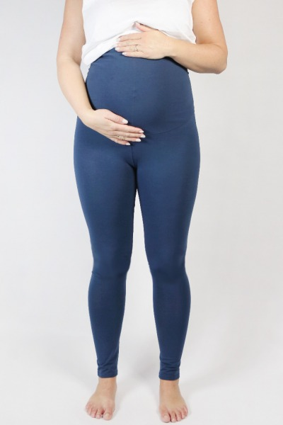 Organic leggings Mama indigo