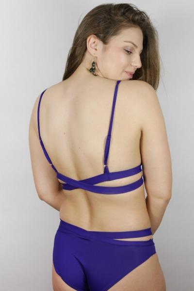 Recyclin Bikini-panties Johto indico