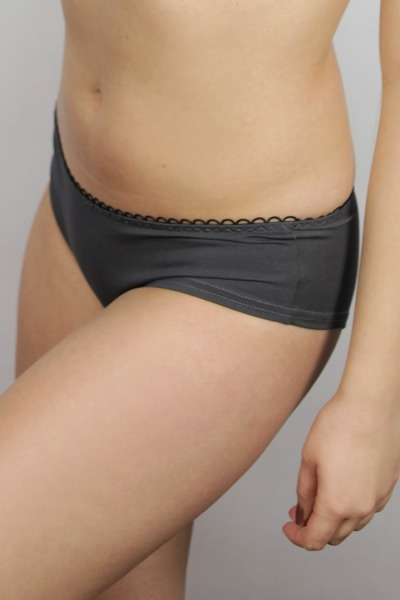 Bio hipster panties anthracite